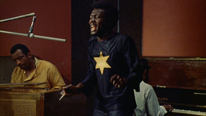 Jimmy Cliff in a scene from The Harder They Come